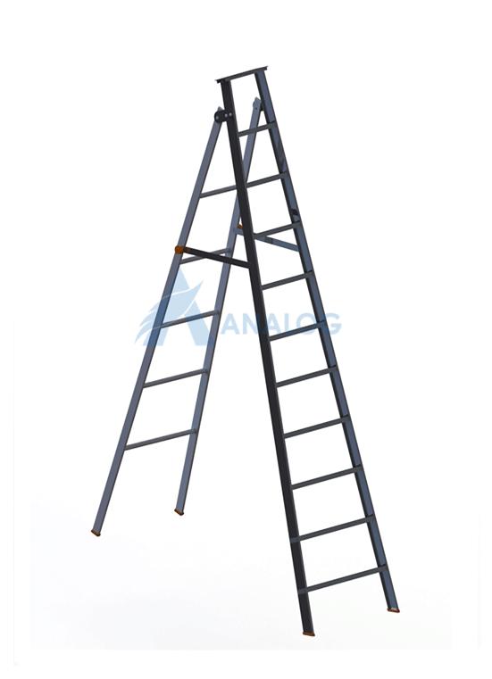 Aluminum Ladder - A Type 2.5mtr (10 Steps)