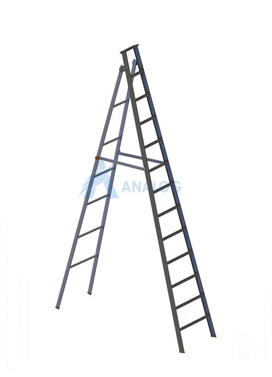 Aluminum Ladder - A Type 3.0mtr (12 Steps)