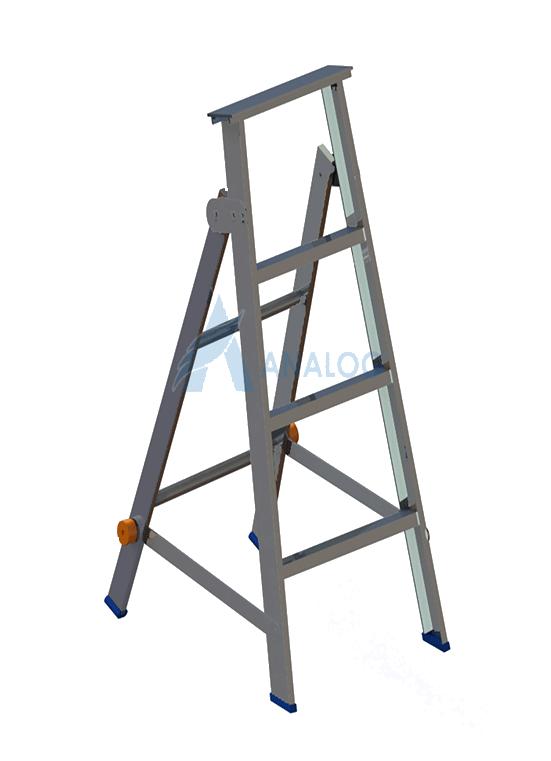 Aluminum Ladder - A Type 0.75mtr (3 steps)