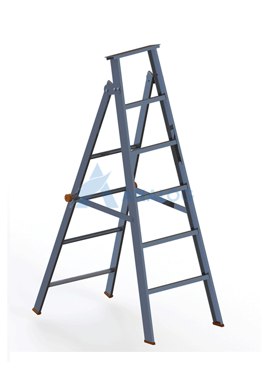 Aluminum Ladder - A Type 1.2mtr (5 Steps)
