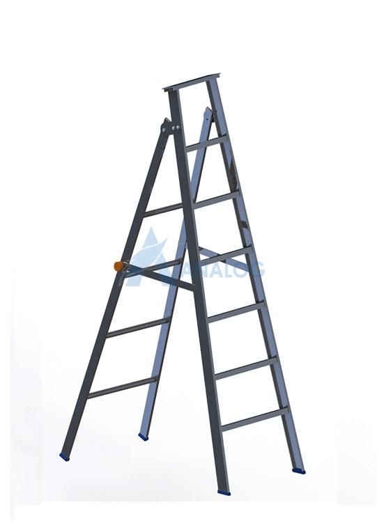 Aluminum Ladder - A Type 1.5mtr (6 Steps)