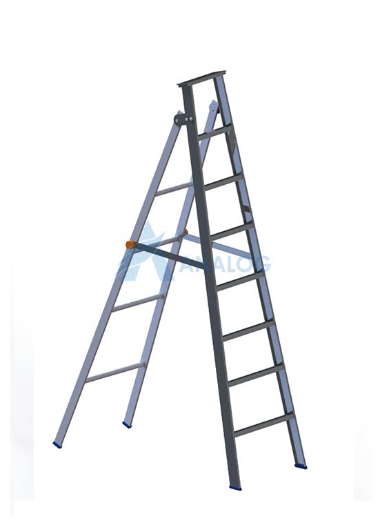 Aluminum Ladder - A Type 1.7mtr (7 Steps)