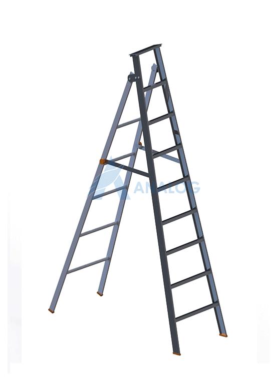 Aluminum Ladder - A Type 2.0mtr (8 Steps)