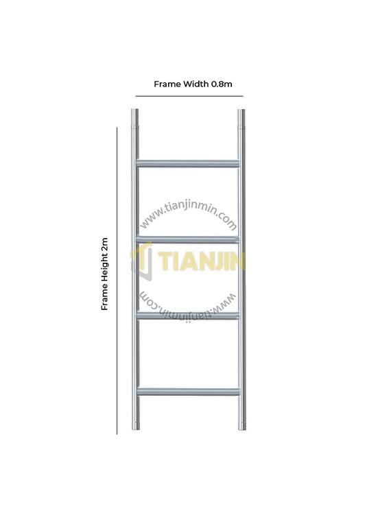 Single Width Span Frame 2.0m Height