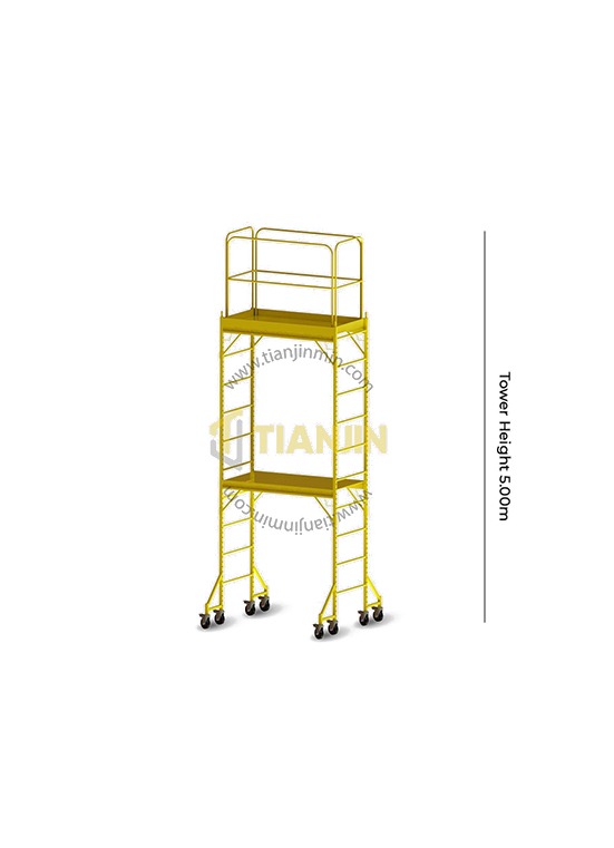 Baker Tower With Handrails - 5.00m